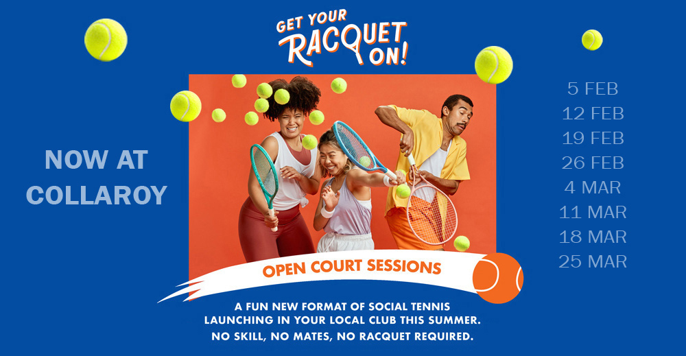 Join the Open Court Sessions @Collaroy