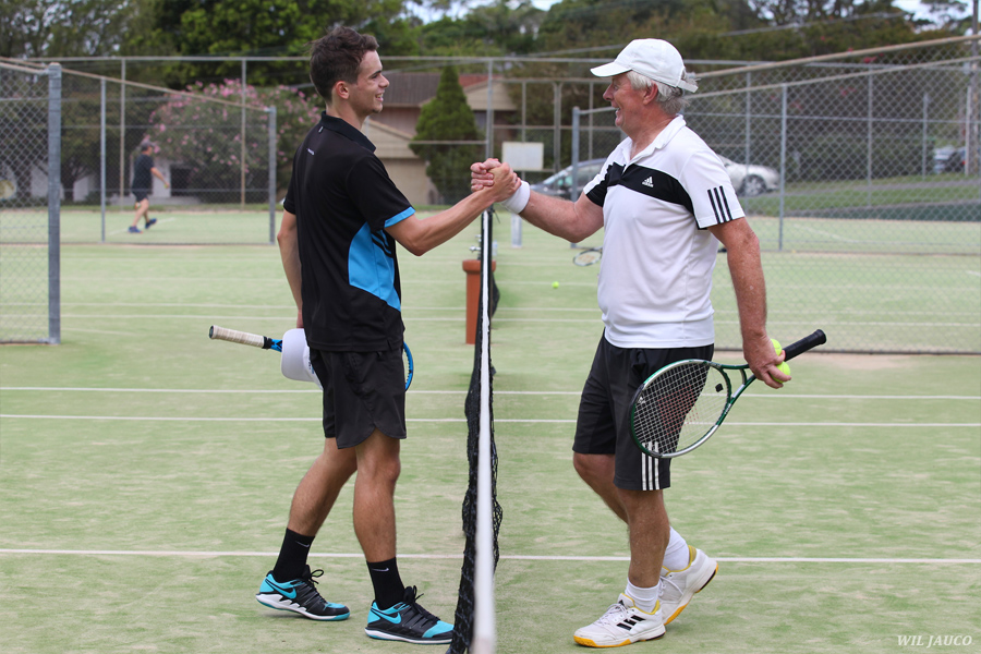 Age no barrier in tennis