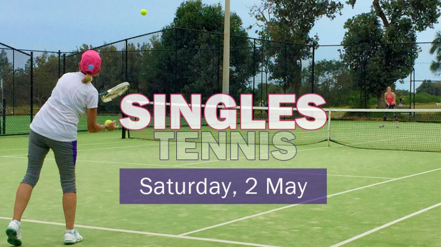 Singles for Members - 2 May