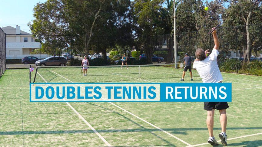 Doubles Tennis Returns