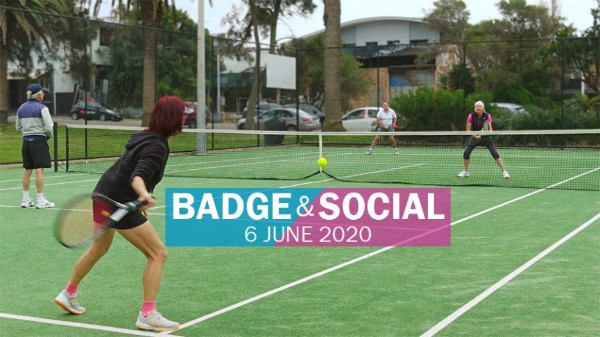 Sydney Badge & Social Tennis @Collaroy