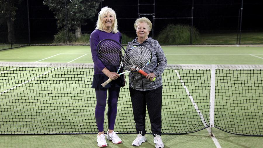 Julie and Lynne