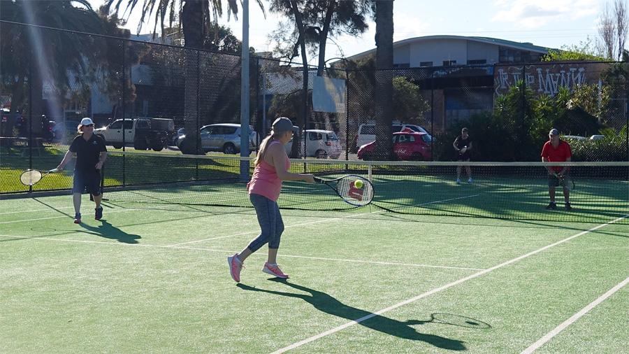 Spring Social Tennis - 1