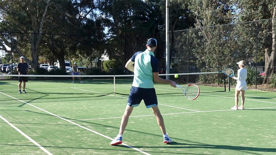 Spring Social Tennis - 2