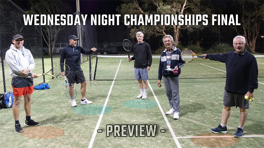 Wed Night Champs 2020 Final - Preview