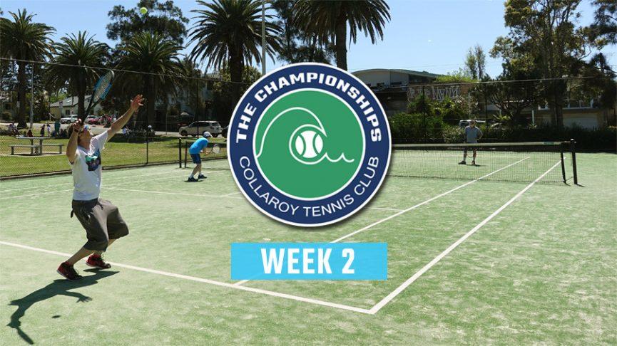 2020 Club Championships - Week2