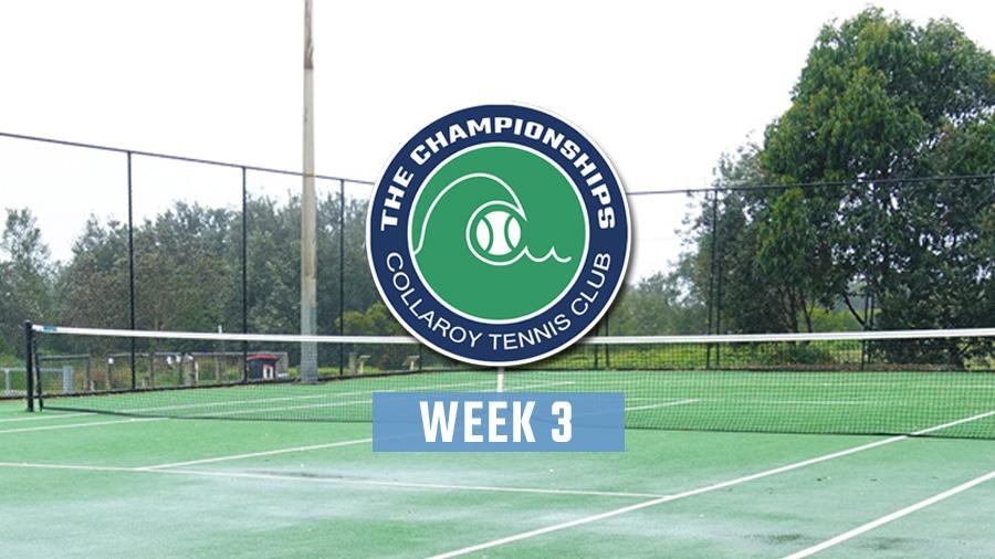 2020 Club Championships - Week 3
