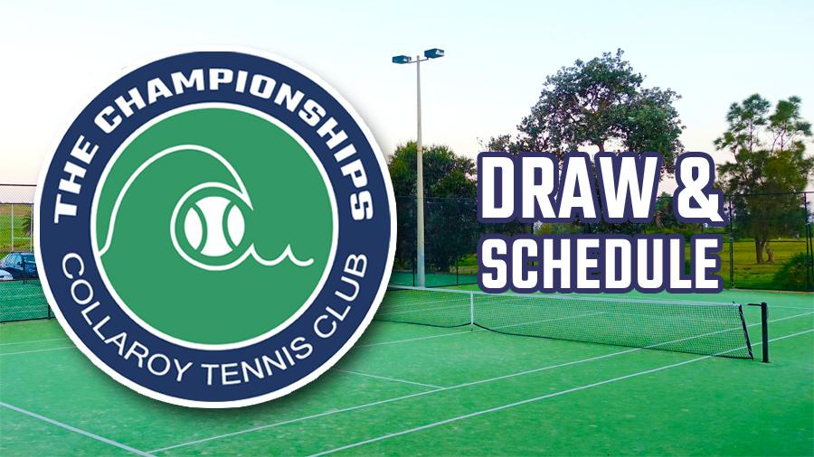 2020 Club Championships - Draw
