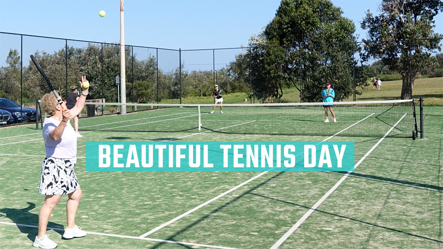 Beautiful Tennis Day