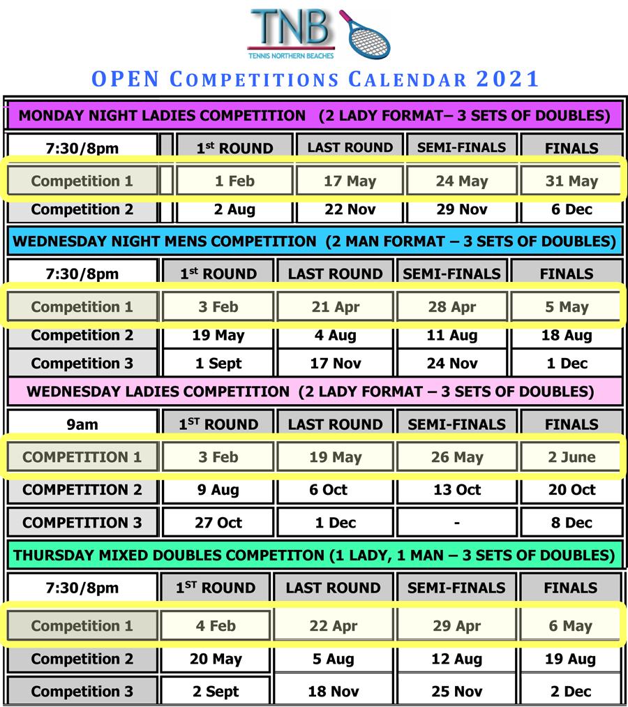 TNB 2021 Calendar