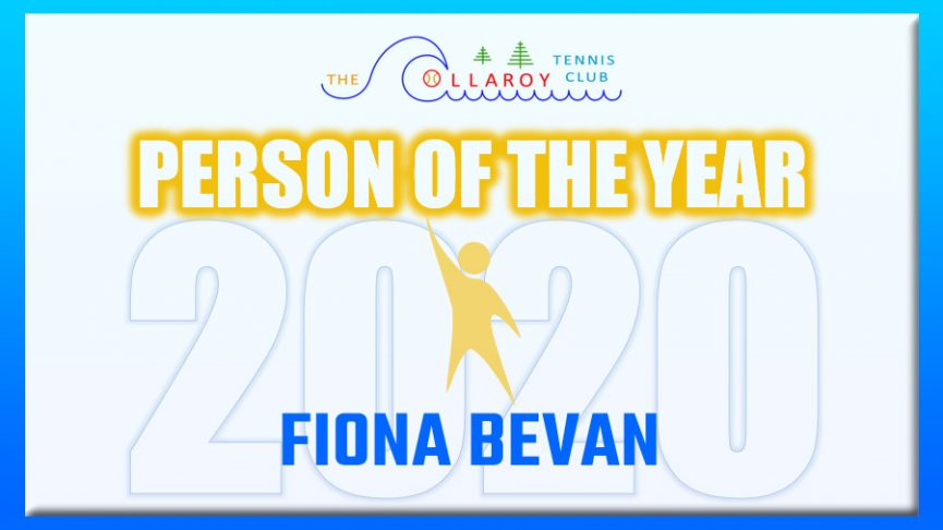 Club Person of the Year -- Fiona Bevan