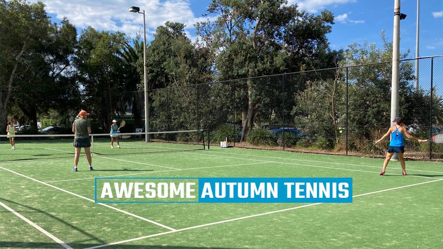 Awesome Autumn Tennis @Collaroy