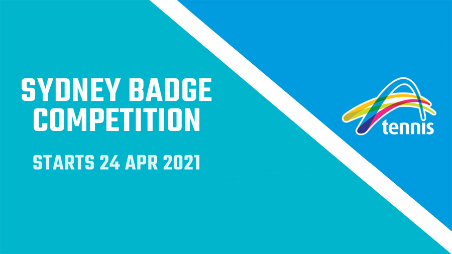 Sydney Badge 2021 starts