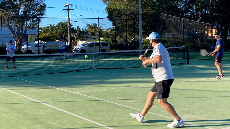 Easter 2021 social tennis