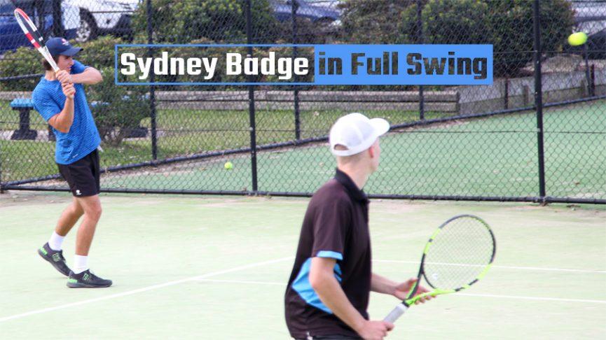 Sydney Badge in Full Swing