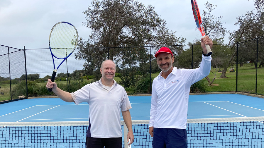 Andrew and Peter - winners