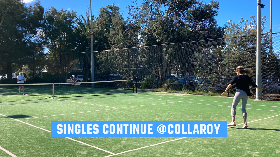 Singles Tennis Continue @Collaroy
