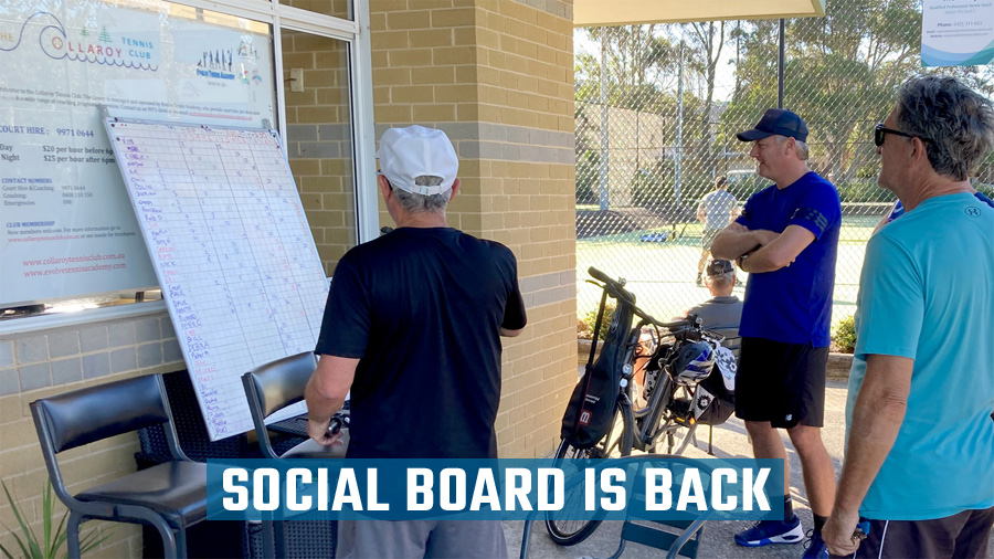 Saturday Social Board is Back