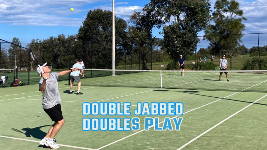Doubles Play for Double Jabbed